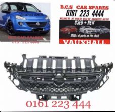 VAUXHALL   ADAM.  FRONT GRILL   NEW.  2013 - 2019.